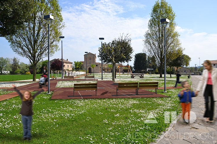 Parco Dell'Annunziata<br><p style='font-size:18px'>Montecosaro</p>